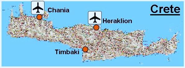 Our location in Southern Crete